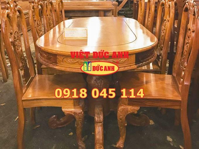 Bàn ghế gỗ 19