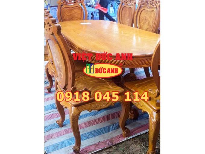 Bàn ghế gỗ 21