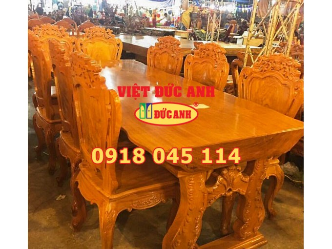 Bàn ghế gỗ 25