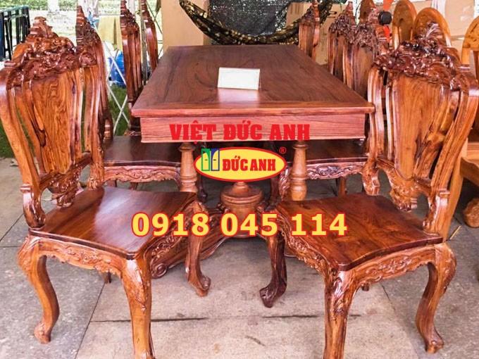 Bàn ghế gỗ 26