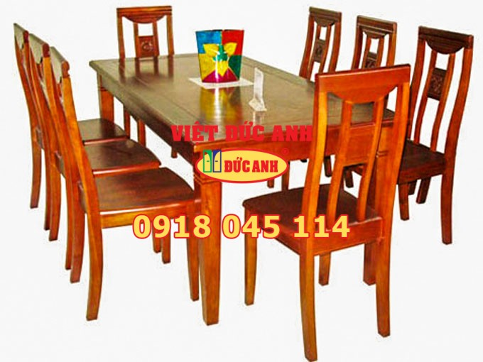 Bàn ghế gỗ 42