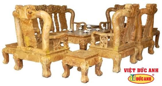 Salon gỗ 7