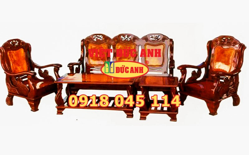 Salon gỗ 90